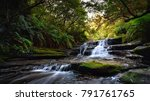 waterfall  forest  sydney ... | Shutterstock . vector #791761765
