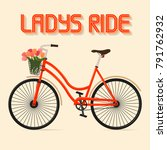 Ladys Ride Flyer  Poster ...