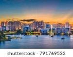 Sarasota  Florida  Usa Downtow...