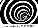 geometric black and white...   Shutterstock .eps vector #791773408