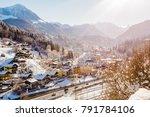 winter koenigssee bayern alps... | Shutterstock . vector #791784106