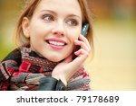 young beautiful smiling woman... | Shutterstock . vector #79178689