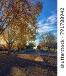 autumn shot of a typical... | Shutterstock . vector #791788942