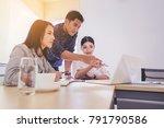business people meeting design... | Shutterstock . vector #791790586