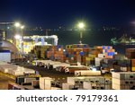 Port Warehouse With Cargoes And ...