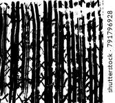 brush stroke pattern.... | Shutterstock .eps vector #791796928