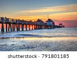 Naples Pier On The Beach At...