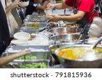 thai street foods  thai foods... | Shutterstock . vector #791815936