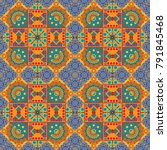 abstract mosaic background....   Shutterstock . vector #791845468