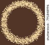 heart brown pattern which... | Shutterstock .eps vector #791848996