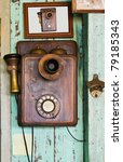 An Old Telephone  Vintage On...