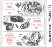 vector illustration sketch  ...   Shutterstock .eps vector #791861476