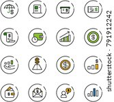 line vector icon set  ...   Shutterstock .eps vector #791912242