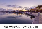 beautiful marina limassol city... | Shutterstock . vector #791917918