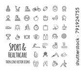 sports  sports equipment ...   Shutterstock .eps vector #791924755