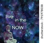 live in the now word cloud  ...   Shutterstock . vector #791978038