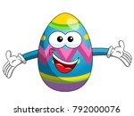 Decorated Mascot Easter Egg Hu...