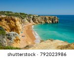 view of limestone cliffs and...   Shutterstock . vector #792023986