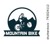 downhill logo template vector...