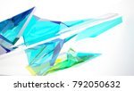 abstract white and colored... | Shutterstock . vector #792050632
