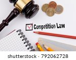 competition law. questionnaire... | Shutterstock . vector #792062728