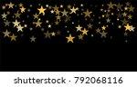 gold stars background ... | Shutterstock .eps vector #792068116