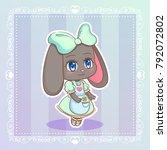 Sweet Rabbit Little Cute Kawai...