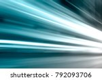 long time of light  striped... | Shutterstock . vector #792093706