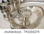 tea time for royal people.... | Shutterstock . vector #792203275