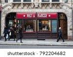 london  uk   circa january ... | Shutterstock . vector #792204682
