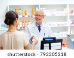 medicine  healthcare and people ... | Shutterstock . vector #792205318