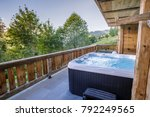 Jacuzzi With View Of Mountains