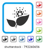 cardano startup sprout icon.... | Shutterstock .eps vector #792260656