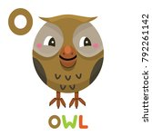 O Is For Owl. Letter O. Owl. ...