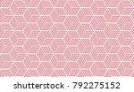 vector seamless pattern with... | Shutterstock .eps vector #792275152