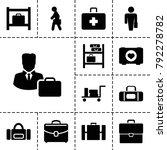 case icons. set of 13 editable...   Shutterstock .eps vector #792278782