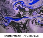 abstract grungy black  slate... | Shutterstock . vector #792280168