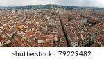 Aerial Panoramic View Of Duomo...
