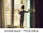 cute baby boy kid child with...   Shutterstock . vector #792313816