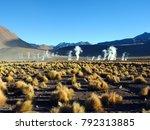 geysers del tatio  atacama...   Shutterstock . vector #792313885