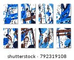 musical backgrounds for posters.... | Shutterstock .eps vector #792319108