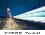 Light Trail Of The Express...