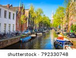 traditional old buildings and... | Shutterstock . vector #792330748