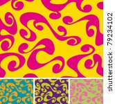 a colourful 60s 70s background... | Shutterstock .eps vector #79234102