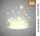magic portal of fantasy.... | Shutterstock .eps vector #792359785