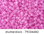 pink polished beads background | Shutterstock . vector #79236682