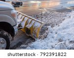 Pick Up Truck With Plow...
