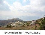 landscape in tai mo shan  hong... | Shutterstock . vector #792402652