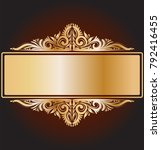 luxury background with royal...   Shutterstock .eps vector #792416455