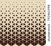 abstract geometric hipster... | Shutterstock .eps vector #792461998